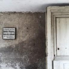 Olden doorway in France.