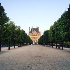 Jardin de Tuileries, Paris, France.