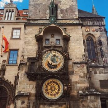 The Astronomical Clock Tower, Prague.