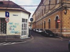 Taken in 2014, this graffiti is no longer here.
