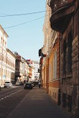Walking down the streets of Cluj.