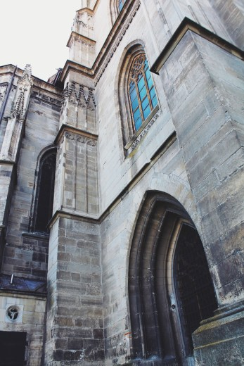 The back side of Biserica Sfantul Mihail.