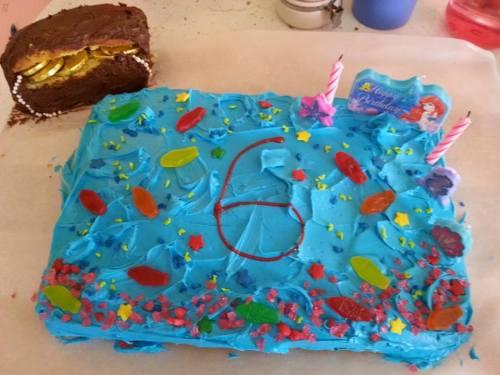 Izzy cake 6th
