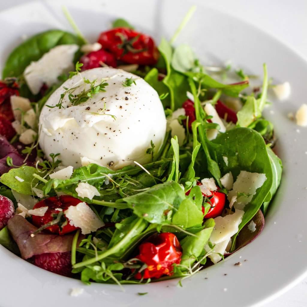 burrata salat