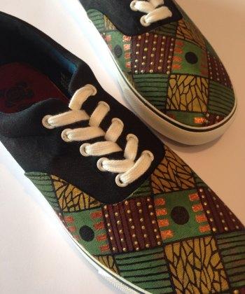 Men's African Print Shoes