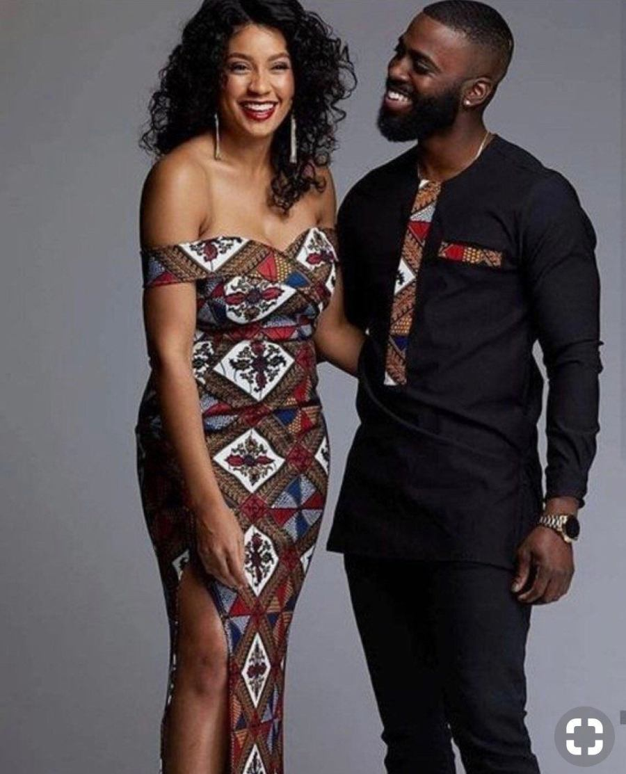 LisabelByLisabel African Clothing Couples Oufit