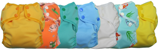 Awesome Beginnings 4 Children Duo Diapers product line