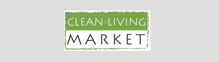Clean Living Market Logo - Lisa Boerum