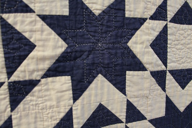Close up of hand quilting lisabongean/primitivegatherings