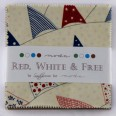red, white & free charm pack-116x116
