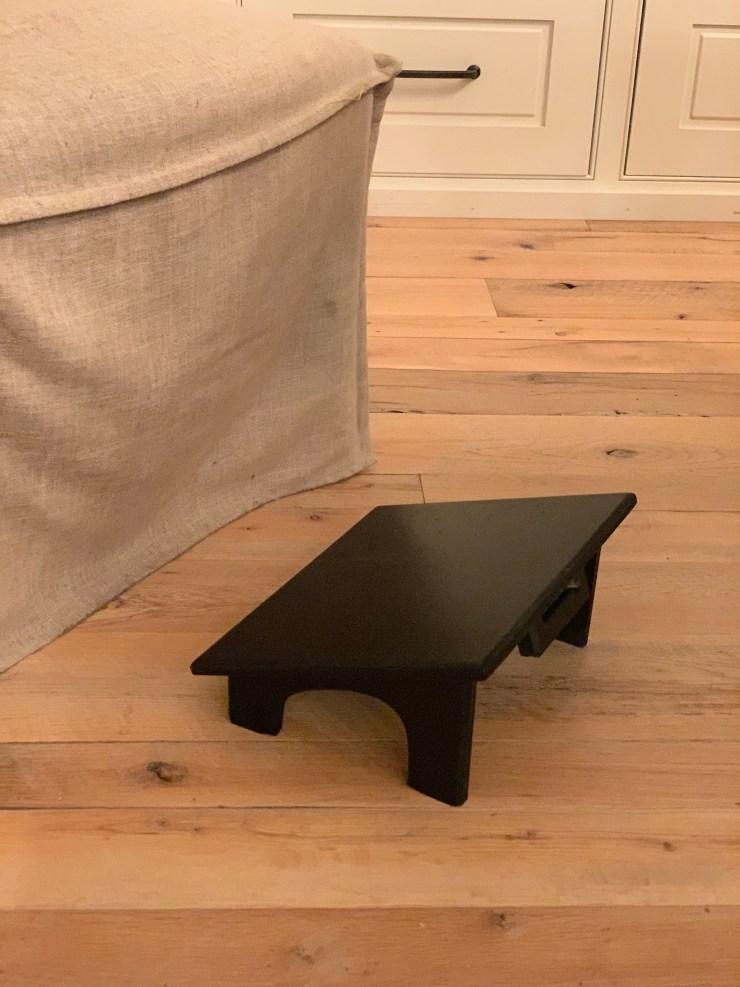 stool on floor