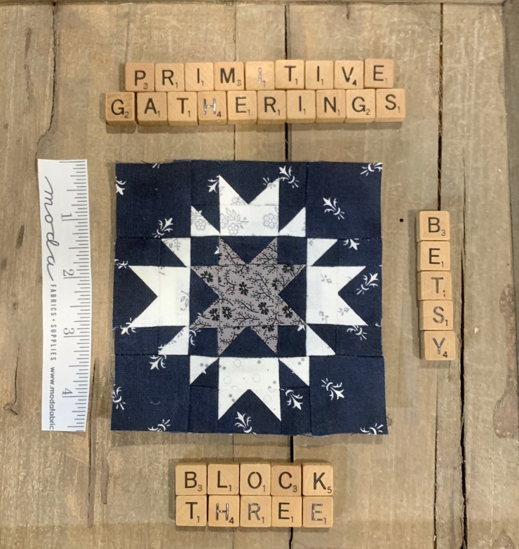 Moda Blockhead 3 Quilt Along Project: Block 3 featured by top US quilting blogger, Lisa Bongean