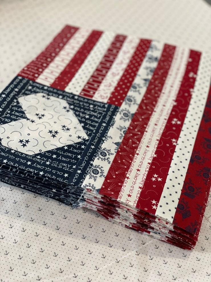 American Quilters SAL/Lisa Bongean
