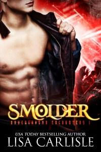 Book Cover: SMOLDER (a goth club vampire romance)