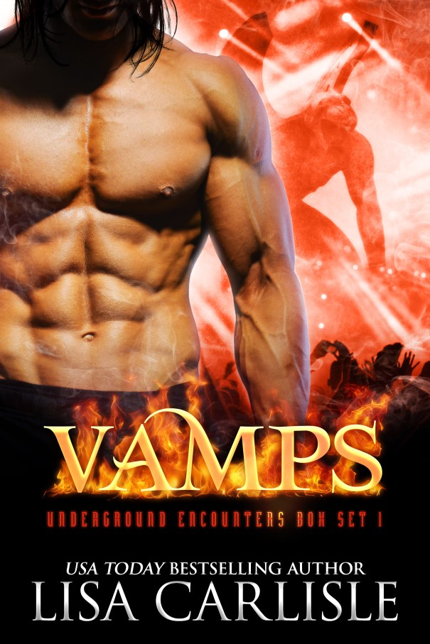 Book Cover: VAMPS (a gargoyle shifter, vampire, and witch boxed set)