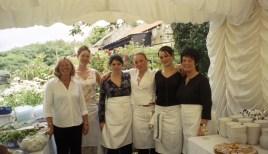 Staff at the Hinderwell wedding