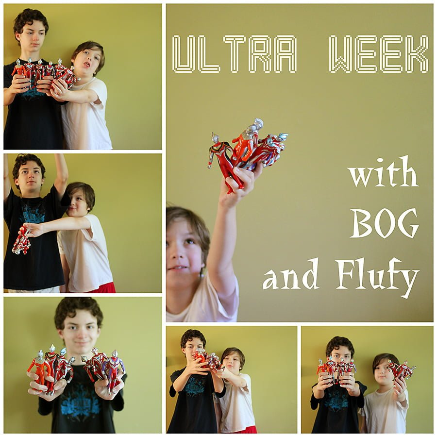 Ultra Week, a YouTube series with Boring Office Guy and I am Flufy