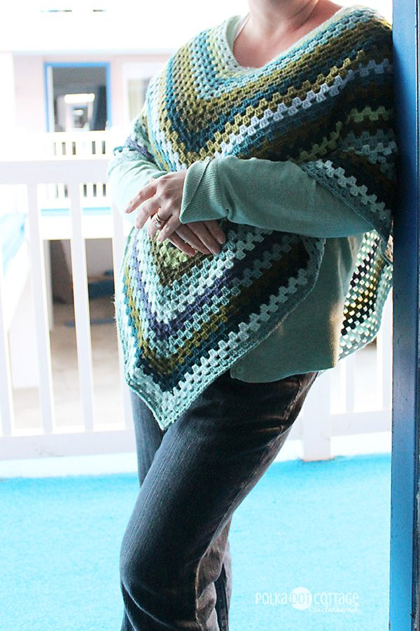 Spring Poncho, at Polka Dot Cottage