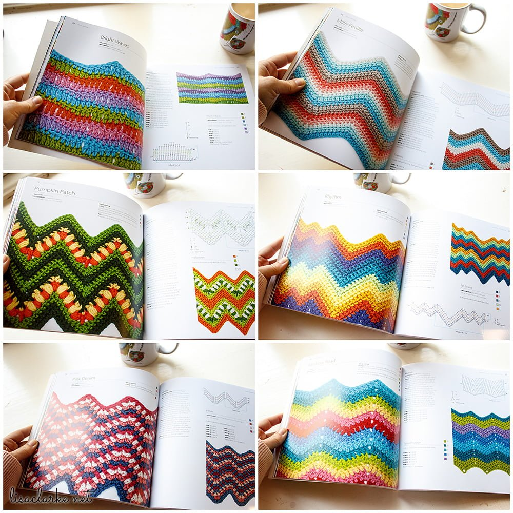 Book Review: 100 Colorful Ripple Stitches to Crochet ⋆ Polka Dot ...
