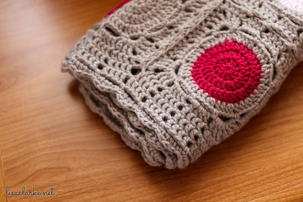 May Baby Blanket show and tell