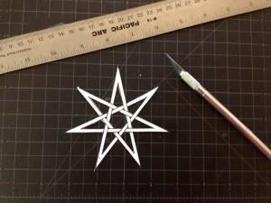 cutting star
