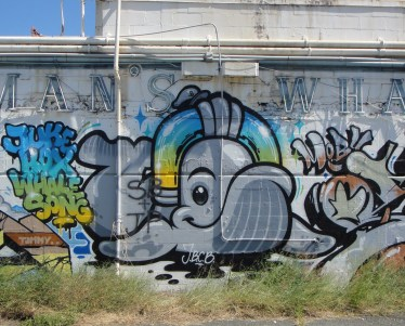 123Klan, Flying Fortress, Slick | Pow! Wow! 2012