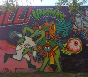 UK Crew Alex, Unomas, Endr | Pow! Wow! 2014