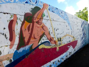 Wall In Papeete (3)