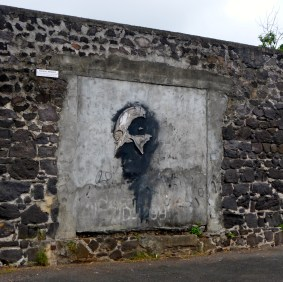 Face On A Wall - Unknown