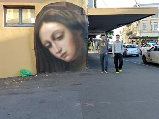 Auckland - Owen Dippie Mural With Cute Boys