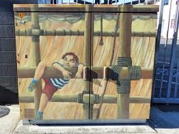 Stowaway - Auckland Street Art - Gaunt Street