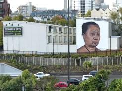 Auckland - Owen Dippie Wall 'Hine' sans Berst_1 Wall :-( - All Fresco 2015