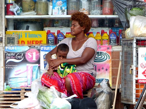 Savusavu - June 2015 - Mother and Child_Copy