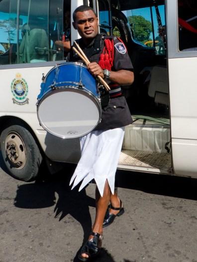 Police Band Drummer