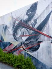 Street Art - Newcastle - October 2015 - Mask - Artist Unknown