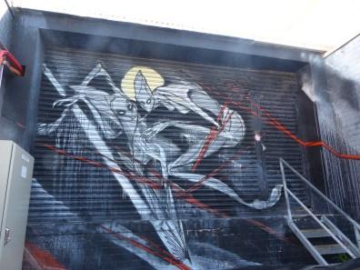 Street Art - Newcastle - October 2015 - Unknown