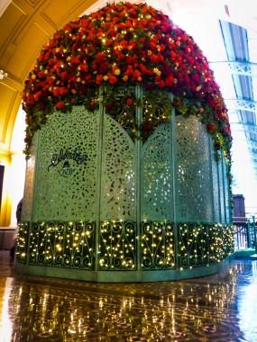 Santa Will Sit Inside Here QVB