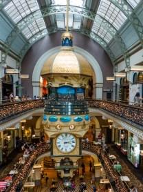 Clock Queen Victoria Building