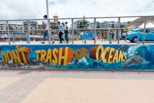 Zest Events - Anti Litter Mural - Bondi