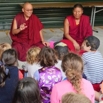 Rinpoche Thupten Tenzin and Passang
