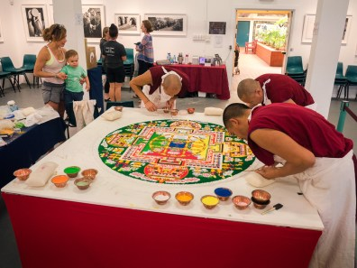 Yamantaka Sand Mandala - 21 April