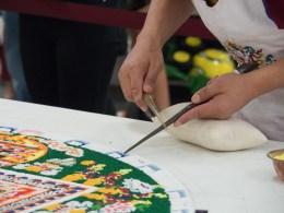 Yamantaka Sand Mandala