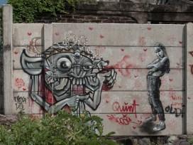 Bali - Canggu - Echo Beach - Chose Life Graffiti Crew @quinte.e