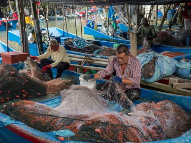 Fisherman Kampong Pulau Betong, Penang