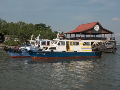 Bum-Boats At Jetty