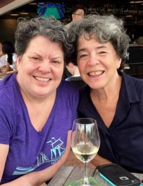 With Alice Baumann Before She Left Singaore To Sail Bora Bora