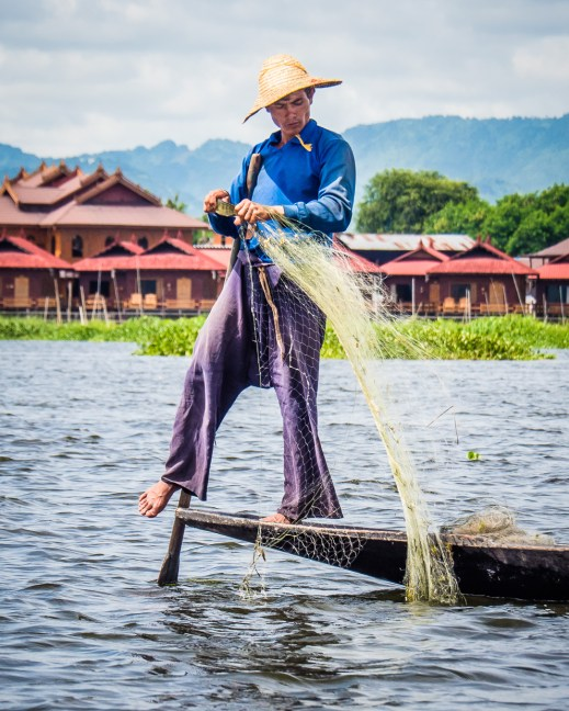 Fishing Inle Lake