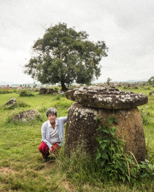 At The Plain of Jars - Image Courtesy Tey Lassada