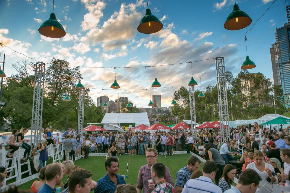 Royal Croquet Club, Birrarung Marr Secret Tasting