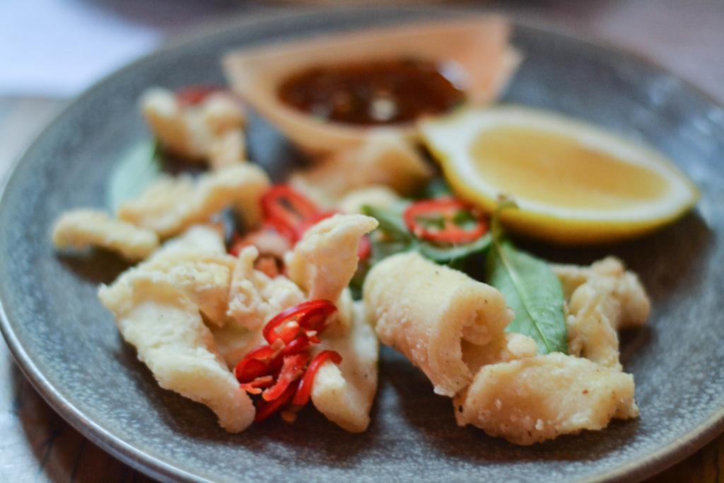 wok fried salt and pepper calamari